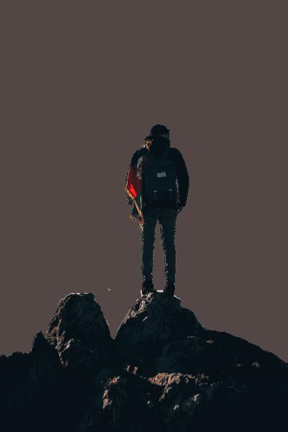 homme sur montagne lpa
