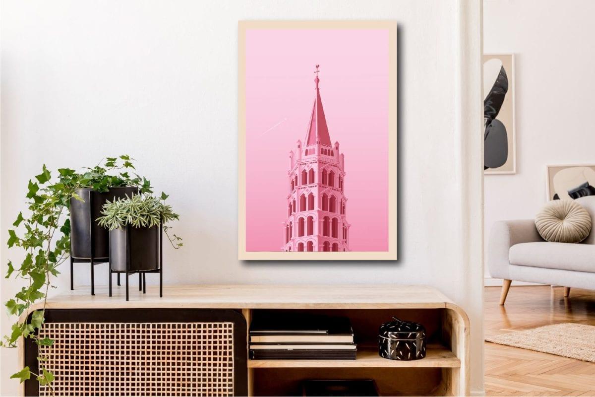 Pink city 40X60