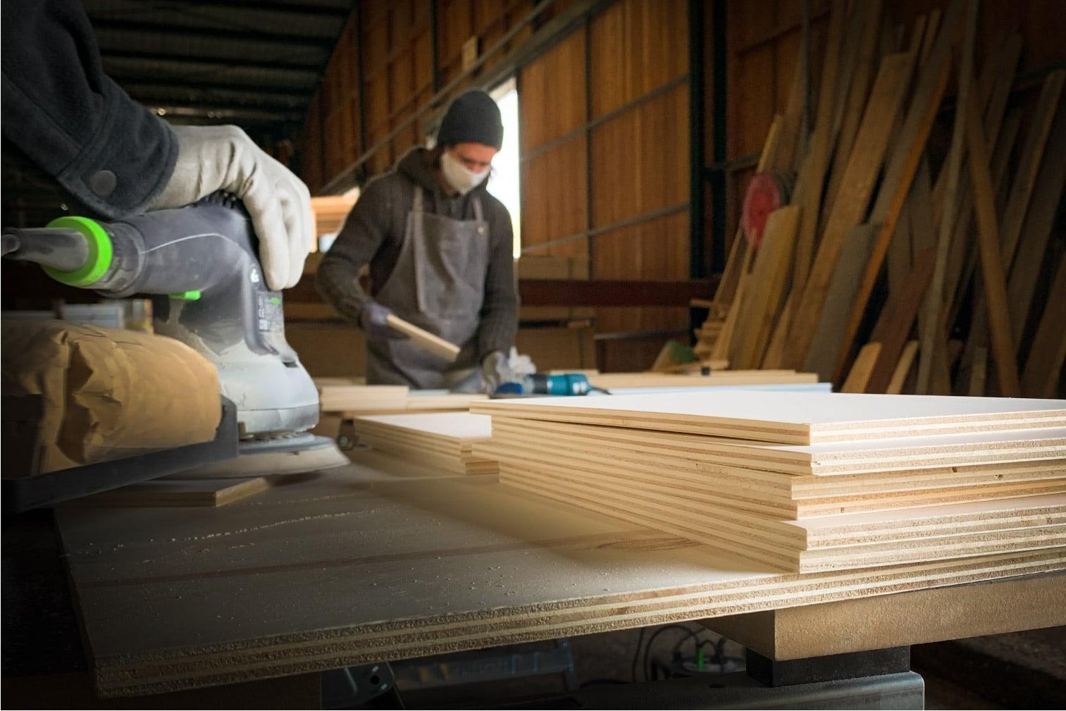 production bois les petits aviateurs décoration plus responsable