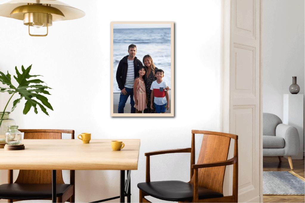personnalise ton tableau en bois écoresponsable français famille