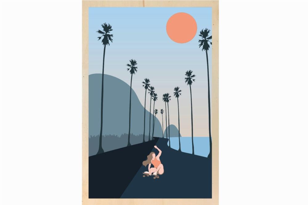Riding palma road