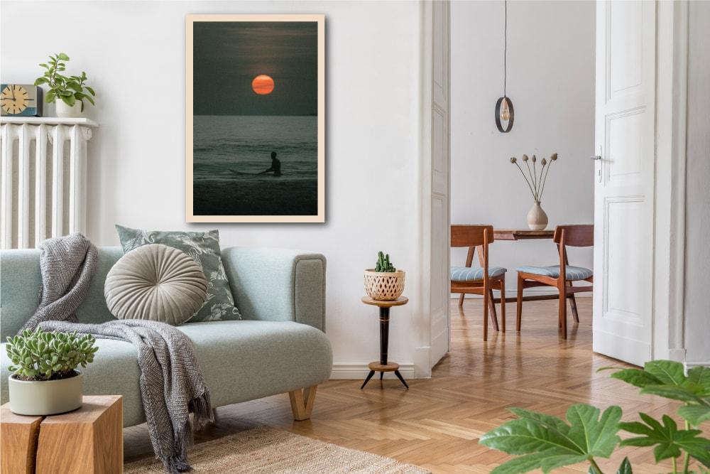 Impression photo sur bois Clément Siegfried les petits aviateurs